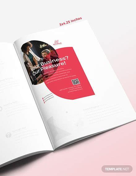 business profile magazine ads template psd indesign