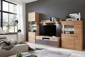 Holländische Möbel Online Shops : ideal m bel wohnwand elena 12 eiche oxid m bel letz ihr online shop ~ Frokenaadalensverden.com Haus und Dekorationen