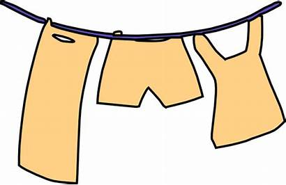 Laundry Hanging Clip Clothes Washing Clipart Clker