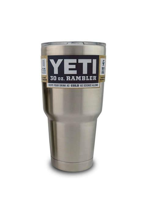 Yeti Rambler Stainless Steel Tumbler 30 From Larue Chic
