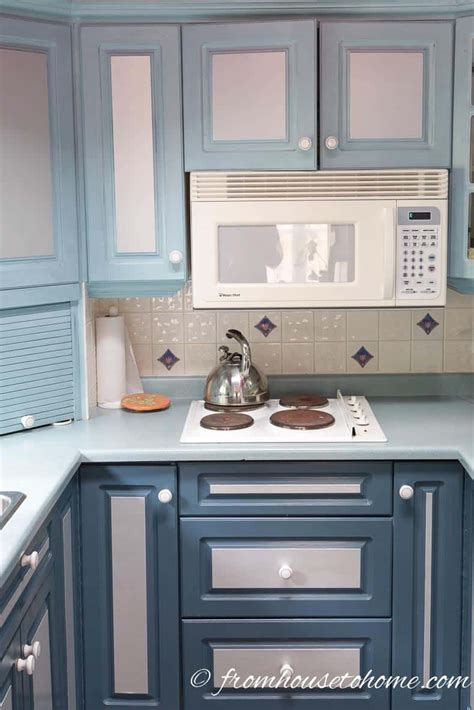 paint melamine kitchen cabinets