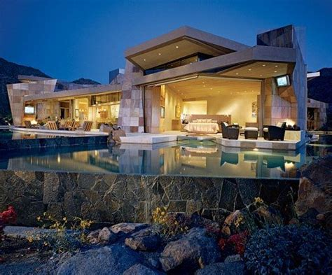 Jerry Weintraub's House, Palm Desert : Architectural