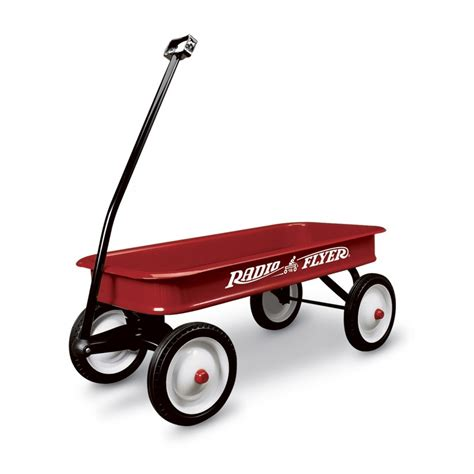 Classic Red Metal Wagon Shop Wagons For Kids Radio Flyer