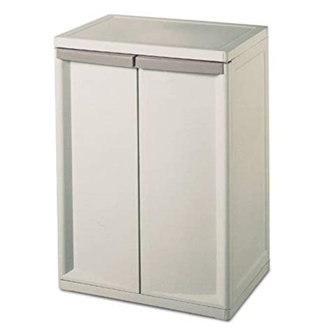 Plastic Storage Cabinets With Doors plastic storage cabinet with doors