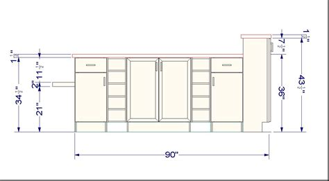 Kitchen Cupboard Height by Ikea Cabinet Sizes Neiltortorella