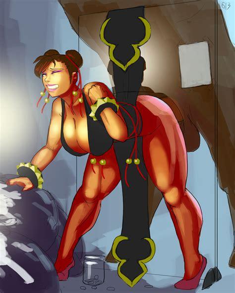 1girl Aka6 Alternate Costume Bent Over Bestiality Black