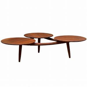 mid century modern coffee table at 1stdibs With small mid century modern coffee table