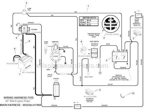 Walker Mower Wiring Schematic by Walker Mower Diagram Wiring And Engine Diagram