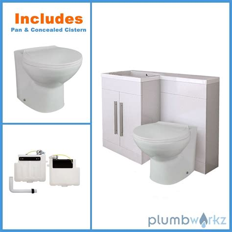 L Shaped Bathroom Vanity Unit by L Shape White Bathroom Furniture Suite Resin Basin Btw