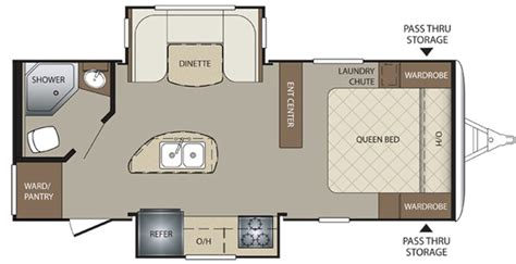 Keystone Premier Travel Trailers Floor Plans