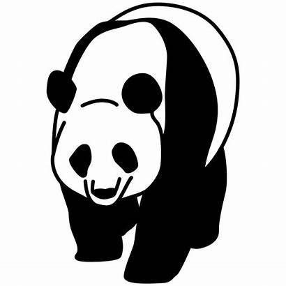 Panda Svg Clipart Transparent Cartoon Background Mark
