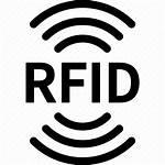 Rfid Icon Radio Frequency Identification Wave Signal