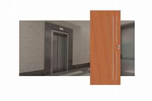 Insert Alu Pour Porte Intérieure : bloc porte palier ei30 avec huisserie anti feu isolation ~ Voncanada.com Idées de Décoration
