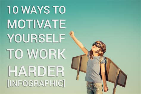 10 Ways to Motivate Yourself to Work Harder - Bellvue Students