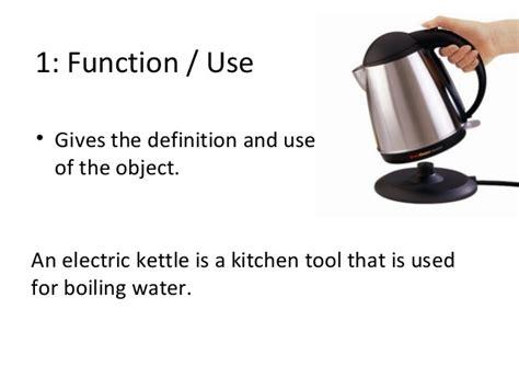 kettle describing use definition physical