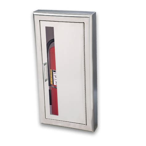 Jl Industries Semi Recessed Extinguisher Cabinet by Jl Cosmopolitan Stainless Steel 1037v10 Semi Recessed 10