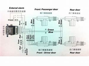 Remote Auto Car Control Keyless Entry Central Door Lock
