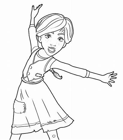 Coloring Leap Pages Ballerina Printable Felicie Colouring