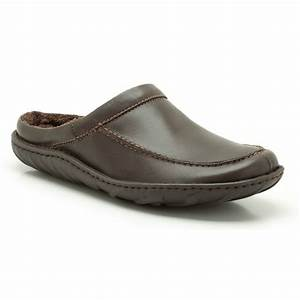 clarks mens kite vasa brown leather slippers available at With letter slippers