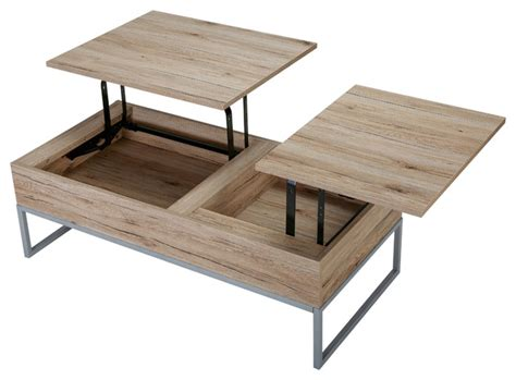 Cerise Wood Lift Top Storage Coffee Table Mid Century Coffee Table With Storage. Furniture