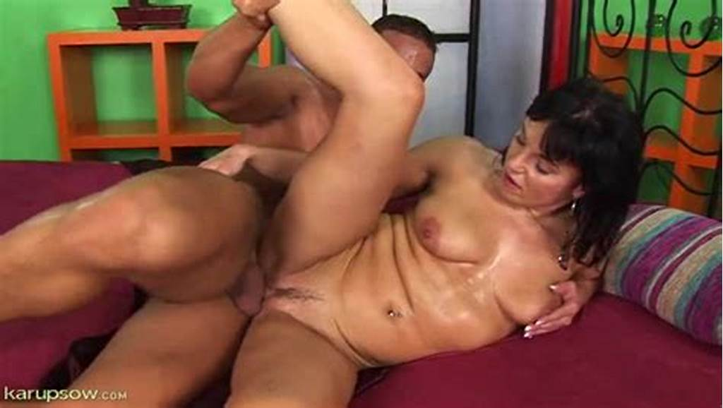 #Sweaty #Man #Drilling #The #Mature #Slut #From #Behind
