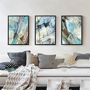 3pcs, Nordic, Canvas, Art, Abstract, Painting, Scandinavian, Modern, Decoration, Painting, For, Living, Room