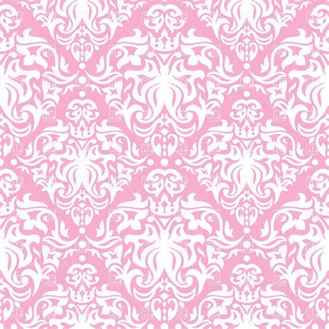 pink and white l pink and white vintage seamless pattern royalty free