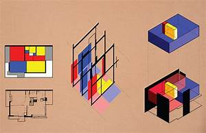 Diagrams Of The Rietveld Schroder House Reveal Its Graphic