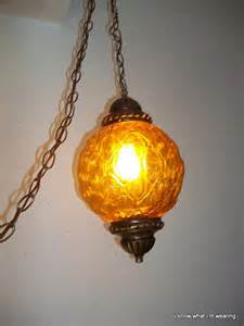 mod swag l 60 39 s gold hanging light by bestfavoritethings