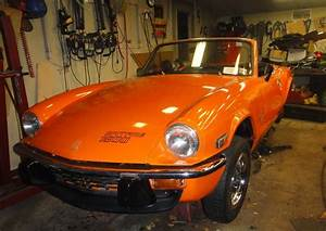 1976 Triumph Spitfire 1500  Fm41700u    Registry   The Mg