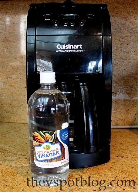 When it just seems like the coffee maker is taking forever making. Clean your coffee maker using vinegar.   The V Spot