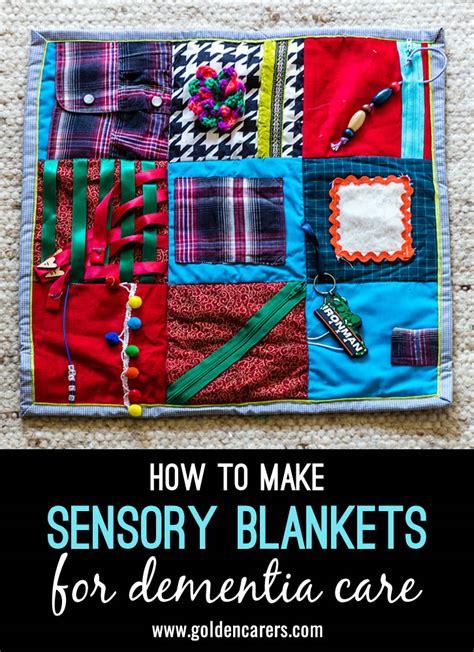 sensory blankets  dementia care