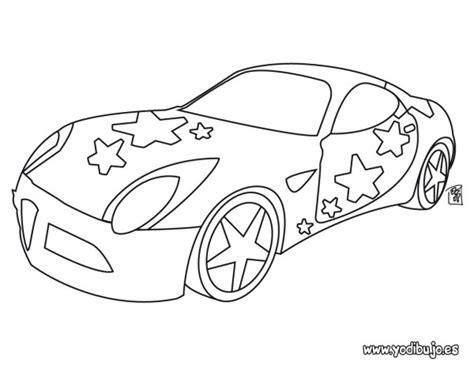 dibujos de autos  imprimir  colorear colorear imagenes