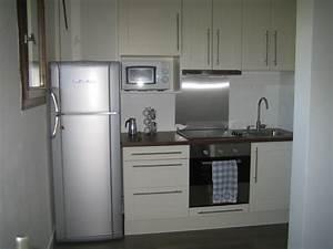 frigo americain dans cuisine equipee 1 cuisine avec With frigo americain dans cuisine equipee