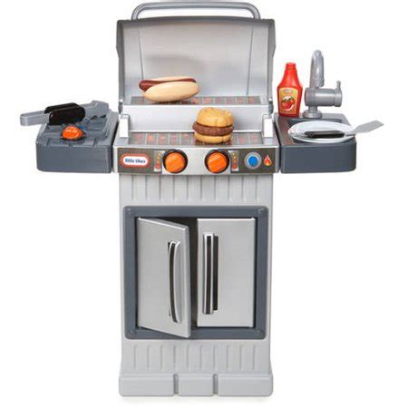 tikes kitchen with grill tikes cook n grow bbq grill walmart