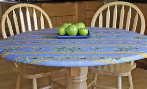fitted 1830 round coated tablecloth olives in by