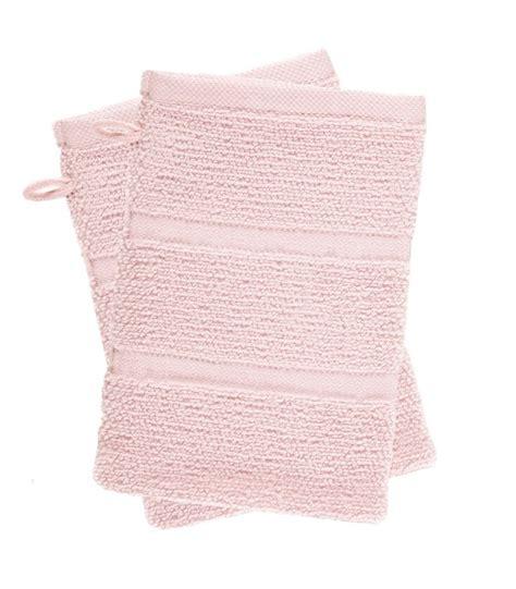 lot linge de toilette lot de 2 gants de toilette wadiga