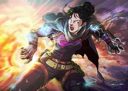 Wraith Apex Legends Deviantart Artstation Artwork Recommended