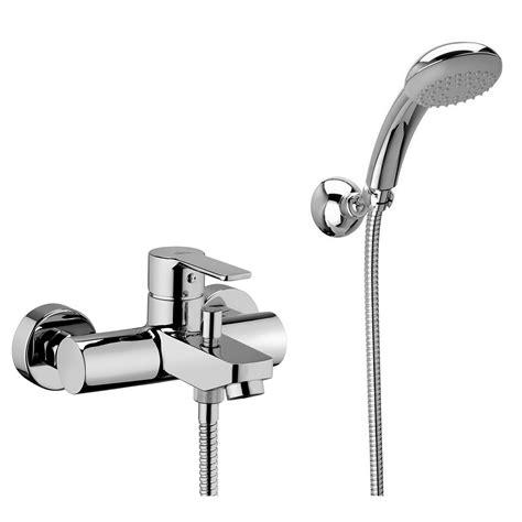 flessibile rubinetto rubinetto per vasca miscelatore con supporto a muro