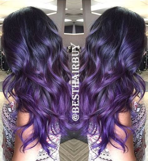 ombre colorful hair best 25 purple ombre ideas on