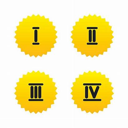 Roman Number Vector Numerals Numeral Clip Icons