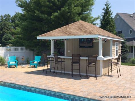 pool sheds with bars siesta poolside bars pool cabanas pool bars