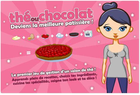 jeux de fille cuisine et patisserie gratuit en francais the ou chocolat le jeu en ligne de cuisine sucrée