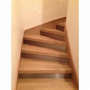 Rénovation Escalier Par Recouvrement : habillage escalier b ton d cor ch ne miel st martin de ~ Dailycaller-alerts.com Idées de Décoration