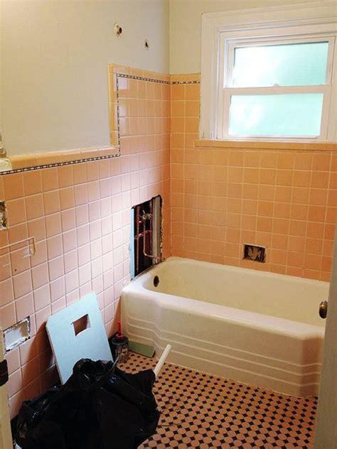 Stick On Bathroom Tiles by 39 Best Pink Bathrooms Images On Bathroom