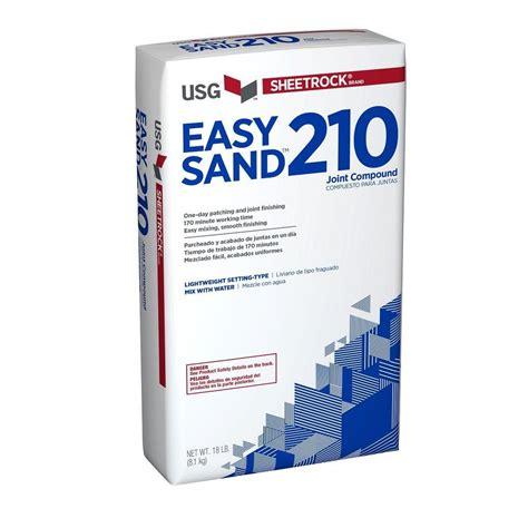 Sheetrock Brand Easy Sand 210 18 Lb Lightweight Setting