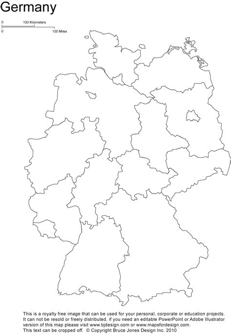 Carte Allemagne Vierge by Germany Printable Blank Map Berlin Europe Royalty Free