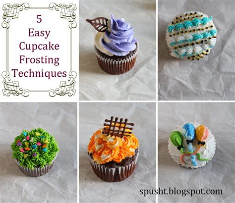 easy cing lunch ideas 5 easy cupcake decoration ideas icing cupcakes cupcake frosting techniques youtube