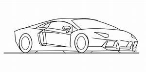 Kleurplaat Lamborghini Veneno  U2022 Kidkleurplaat Nl