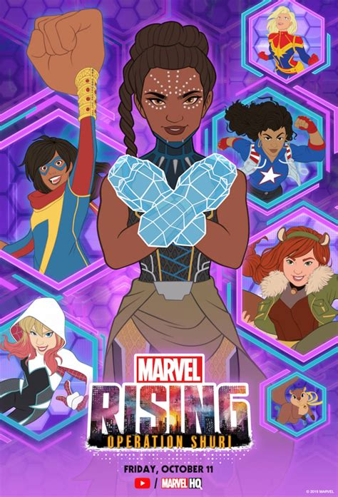 World Premiere Of 'Marvel Rising: Operation Shuri' Coming ...
